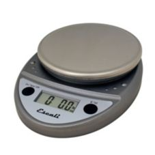 Escali® Primo Chrome 11 lb Portable Digital Scale