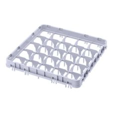 Cambro® Soft Gray 25-Compartment Full-Size Full Drop Extender