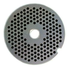 "Hobart 12PLT-1/8C Carbon Steel 1/8"" Plate for Meat Chopper"