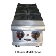 "APW Wyott HHP-424 24"" Cookline Gas (4) 30000 BTU Burner Hot Plate"