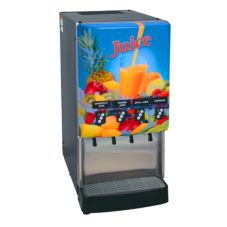 BUNN® 4-Flavor Gourmet Cold Beverage System with Portion Control