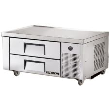"True® S/S 48""W 2-Drawer Refrigerated Chef Base"