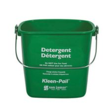 San Jamar® KP256GN Green 8-Quart Kleen-Pail®