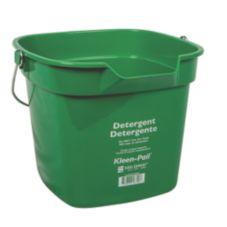 San Jamar® KP320GN Green 10-Quart Kleen-Pail®