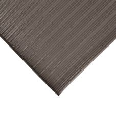 "NoTrax 4458-433 Comfort Rest 3/8"" Thick 4' x 6' Coal Floor Mat"