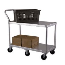New Age Industrial 1490 Produce / Stocking Cart with Handle