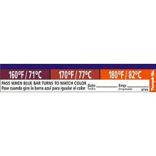 Taylor® Precision TempRite® Adhesive Dishwasher Test Label