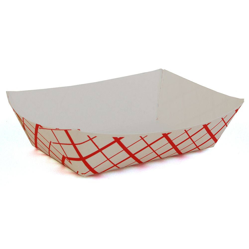 Spring Grove 15300666 Red Weave 2 Lb Paperboard Food Tray - 1000 / CS at Sears.com