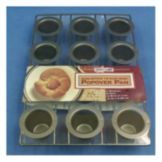 Focus Foodservice 26121 Non-Stick 12-Cup Mini Popover Pan
