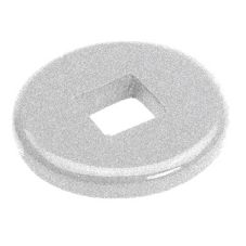 Cambro CSHDDB Sp. Gray Camshelving High Density Donut Bumper - 4 / CS