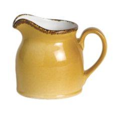 Steelite 11210387 Terramesa Mustard 5 Oz Jug Club - 12 / CS