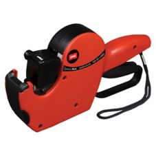 DayMark 111163 DM-3 Red Plastic 1-Line Label Gun