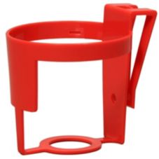 Safe-Strap Clip N Sip Cup Holder for Shopping Cart