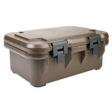 """Cambro UPCS160131 Dark Brown 6"""" Deep Ultra Pan Carrier® S-Series"""
