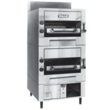 Vulcan Hart IR2 Double Deck Gas Deck-Broiler with Infrared Burner