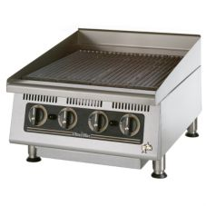 "Star® 8124RCBA Ultra-Max™ 24"" Radiant Gas Char-Broiler"
