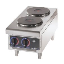 Star® 502FF Star-Max® French Style Hot Plate with 2 Burners