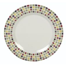 Carlisle® 44405918 Designer Displayware Mediterranean Tile Platter