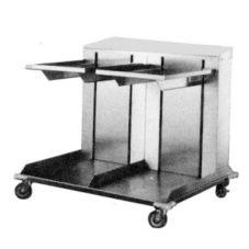 APW Wyott CTRD-1014 Dual Cantilever Lowerator 10 x 14 Tray Dispenser