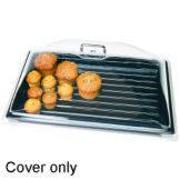 """Cambro DD1826CW135 Camwear 18"""" x 26"""" Dome Display Cover with Handle"""