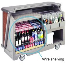 Cambro® 650WS Wire Shelving for Cambar® BAR650