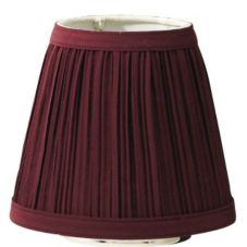 SternoCandleLamp™ 85436 Small Wine Cloth Shade