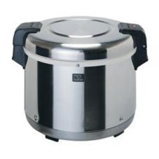 Zojirushi S/S Electric 17 Qt Rice Warmer w/ Non-Stick Removable Pan