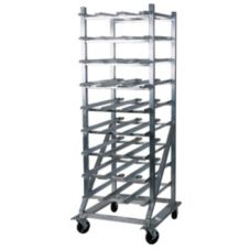 Win Holt® Mobile Can Dispensing Aluminum Rack For #10 Cans