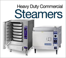 Heavy Duty Commercial Steamers