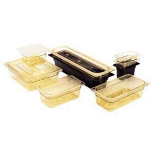 Amber Food Pans
