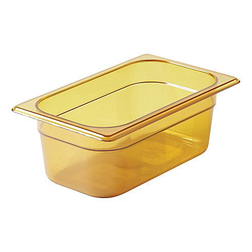 Fourth Size Amber Food Pan