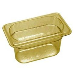 Ninth Size Amber Food Pan