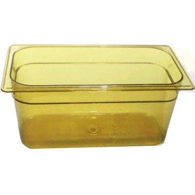 Third Size Amber Food Pan