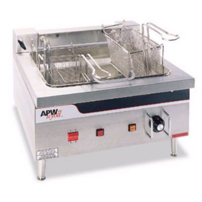 APW Electric Countertop Fryer