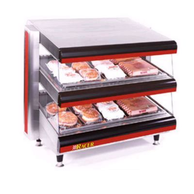 APW Racer Slanted Countertop Display Merchandisers