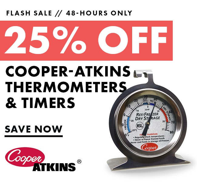 Save 25% On Cooper-Atkins Products