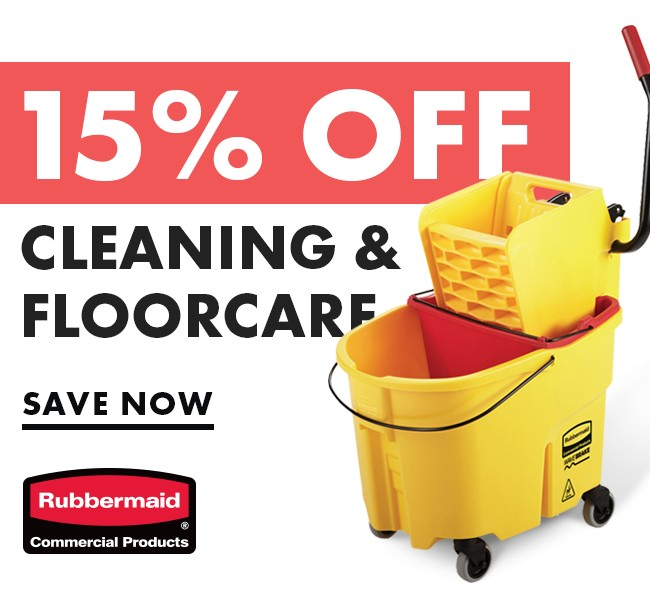 Save 15% On Cleaning Supplies