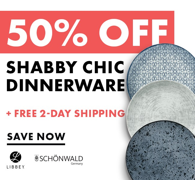 Save 50% On Shabby Chic