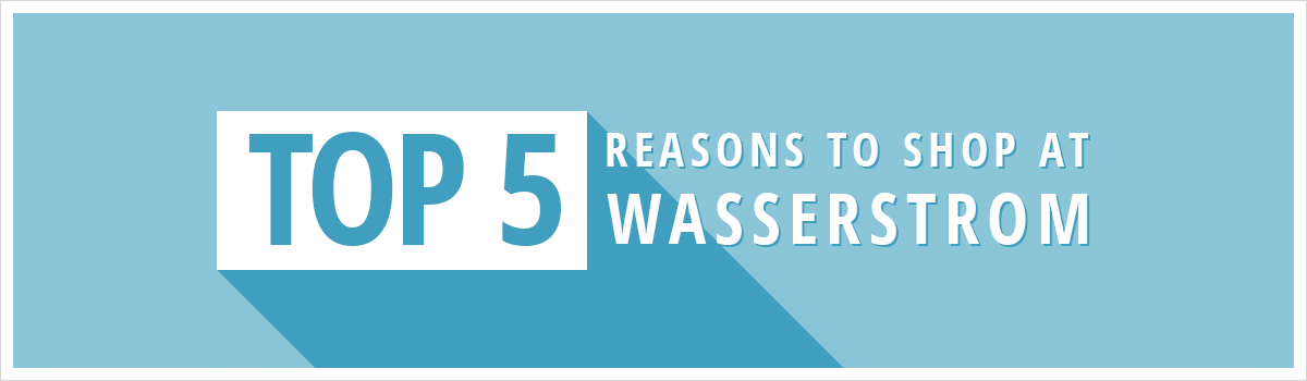 Top 5 Reasons to Shop at Wasserstrom