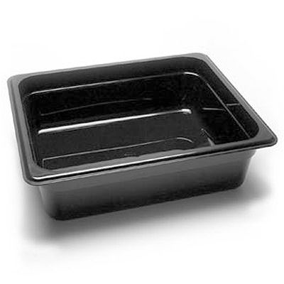 Full Size Black Food Pan