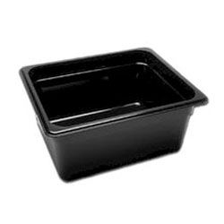 Half Size Black Food Pan