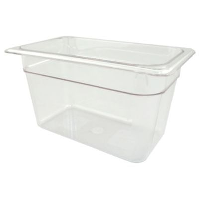 Fourth Size Clear Food Pan