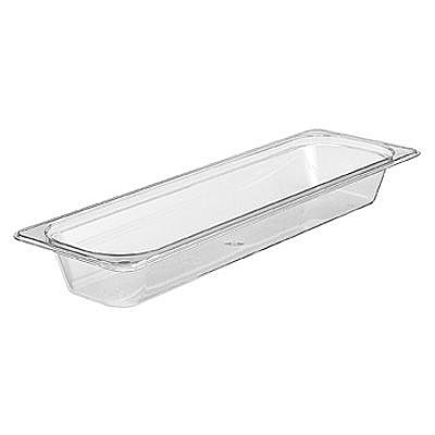 Half Long Size Clear Food Pan