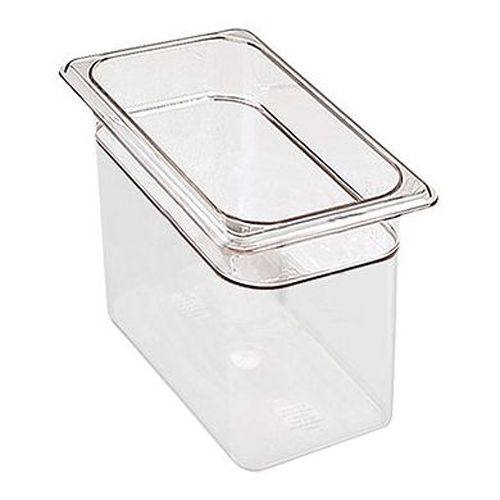 Third Size Clear Food Pan