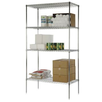 Focus Foodservice Chrome Shelving
