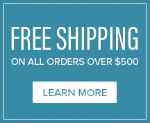 Free Shipping On All Orders Over $500