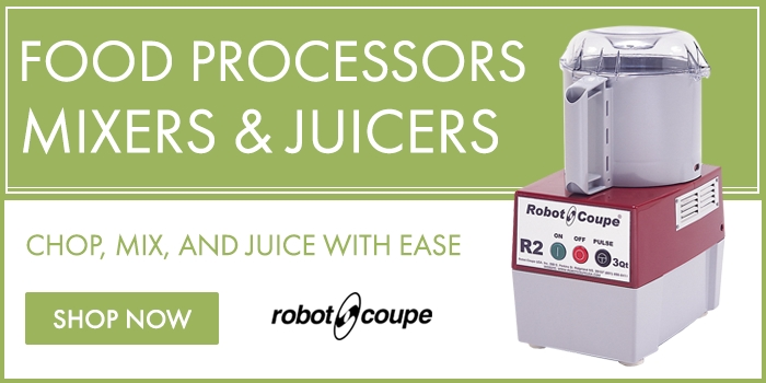 Food Processors, Mixers, and Juicers