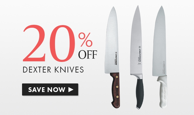 Save 20% On Dexter Products