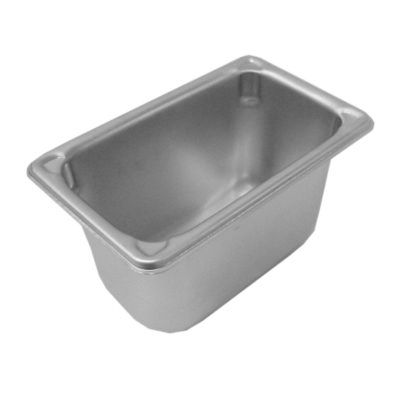 Stainless Steel Ninth Size Food Pan