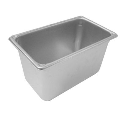 Stainless Steel Quarter Size Food Pan